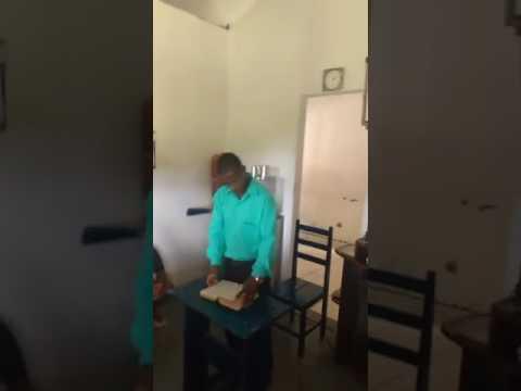 pregando em centro de recuperação na cidade de ibirataia