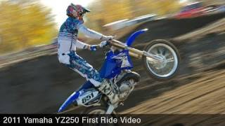 1. MotoUSA First Ride:  2011 Yamaha YZ250