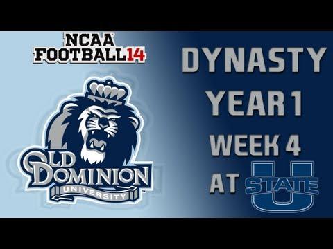 NCAA Football 14 Dynasty - Old Dominion: Episode 5