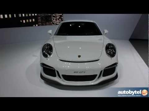 2014 Porsche 911 GT3 at The 2013 New York Auto Show