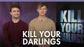 Daniel Radcliffe And Dane Dehaan On Kissing And  Kill Your Darlings