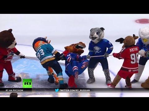 Звёздный уик-энд: в Астане прошло мастер-шоу Матча звёзд КХЛ (видео)
