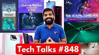 Tech Talks #848 - K20 Pro Mi Explorer, Xiaomi CC9, Google Pixel 4, Redmi Note 7 Pro Game Turbo, Moto