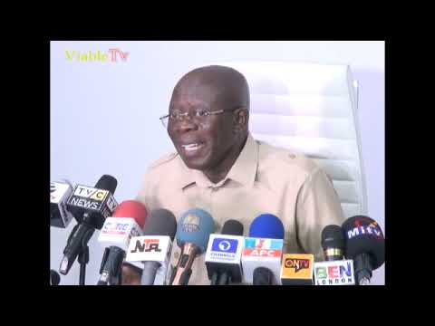 FULL VIDEO-Pain of Rigging-Oshiomhole's Gaffe On Osun Rerun