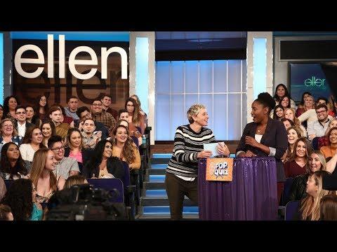 Ellen Asks the Audience Questions About Her Talk Show