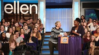 Video Ellen Asks the Audience Questions About Her Talk Show MP3, 3GP, MP4, WEBM, AVI, FLV Desember 2018