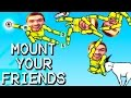 Mount Your Friends | NAKED MAN PILE w/Daithi De Nogla