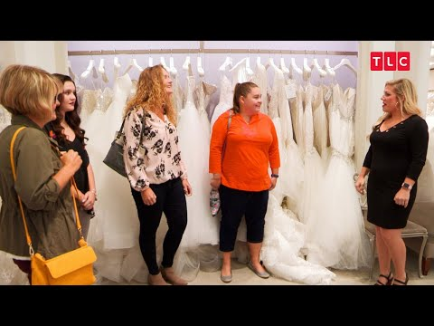 This Bride's Running A Half-Marathon For Her Wedding | Say Yes to the Dress (видео)