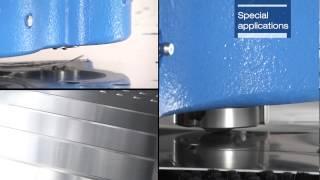 Servohydraulische Stanz–Nibbel Maschine STX (Euromac)