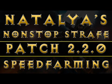 Diablo 3 - Demon Hunter Natalya's Nonstop Strafe Build (RoS Patch 2.2.0)