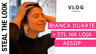 Stories of New York: Bianca Duarte e STL na loja da Aesop