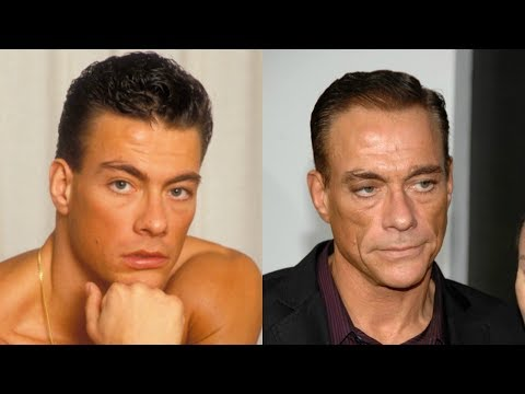 Jean-Claude Van Damme transformation from 1 to 57 years old