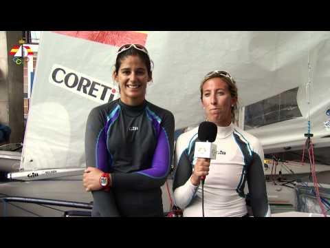 Saludo de Patricia Cantero y Ángela Pumariega desde Santander