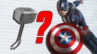 Video How Strong Was Captain America With Mjolnir? (MCU) MP3, 3GP, MP4, WEBM, AVI, FLV Mei 2019