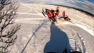 4. Polaris Switchback 600 Pro R GoPro HD Hero 2