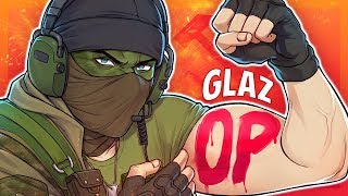 THE MOST POWERFUL GLAZ EVER - Rainbow Six Siege