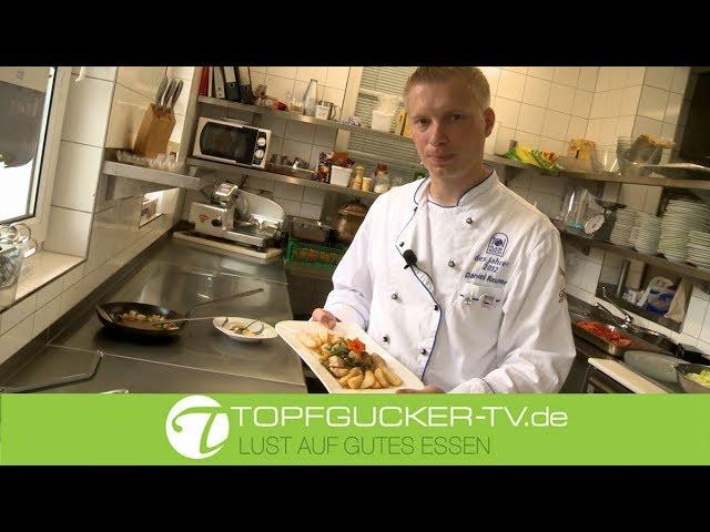 Hähnchen-, Paprika-, Physalispfanne   Topfgucker-TV