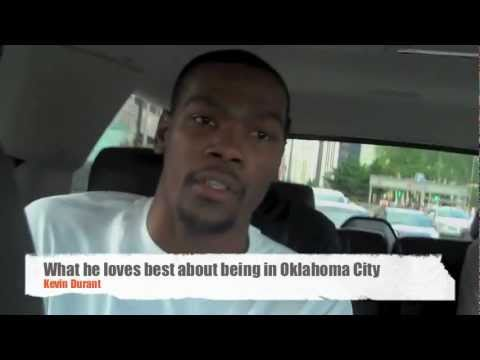 Video: KD riding in a car, talking about stuff