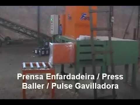Prensa Compactadora Enfardadeira / Press Baller / Pulse Gavilladora Fortex