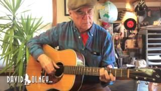 <b>David Olney</b> You Never Know November 15 2016 Songwriter Series