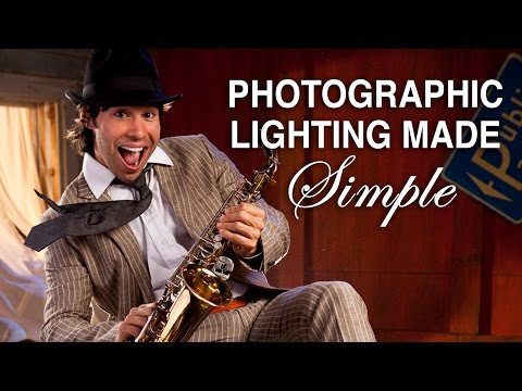 Photographic Lighting Made simple! DSLR 3 Light Portrait Lesson Part One_1.mp4