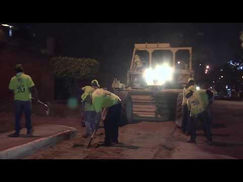 Mantenimiento de calles, una tarea de todos los días