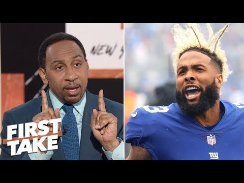 Stephen A.: Odell Beckham Jr.'s antics are a symptom of a larger problem for the Giants | First Take