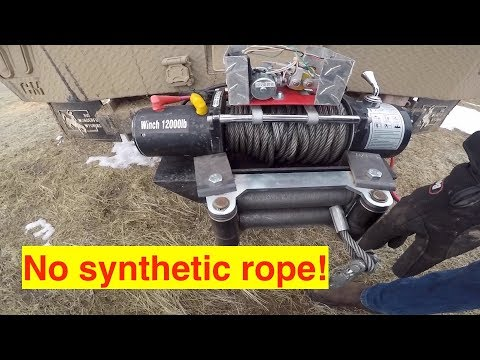 Upgrading The Cheapest Winch On Amazon