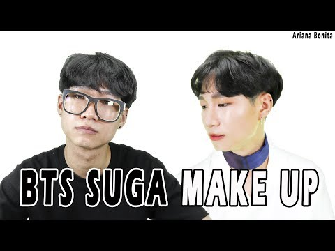BTS SUGA COVER MAKEUP │ FAKE LOVE │ KPOP IDOL