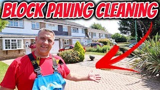 Block Paving Cleaning Poole