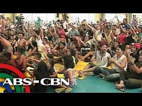 Mga Pinoy ipinagbunyi ang panalo ni Pacquiao