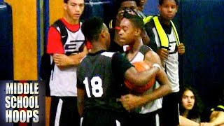 Damon Harge vs Donovann Toatley - Top 2018 Guards Battle at CP3 Rising Stars Camp