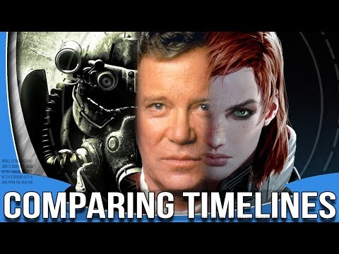 Comparing Timelines (Fallout/Star Trek/Mass Effect)