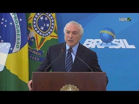 Βραζιλία: Το Κογκρέσο ψηφίζει για την παραπομπή Τέμερ