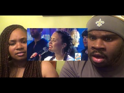 DEMI LOVATO - TELL ME YOU LOVE ME (LIVE ON THE TODAY SHOW) - REACTION