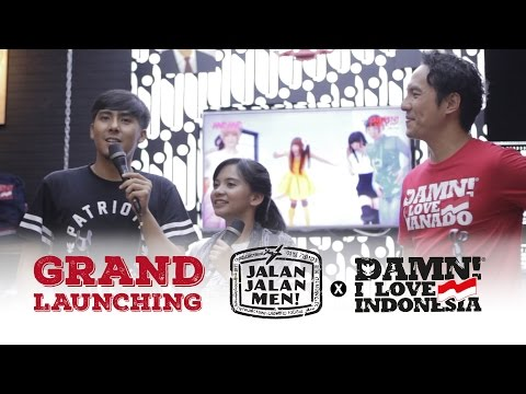 Grand Launching - Jalan2men X Damn! I Love Indonesia