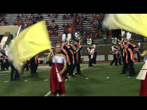san Angelo Central vs. Killeen Shoemaker Sept 21, 2017 Band Performance