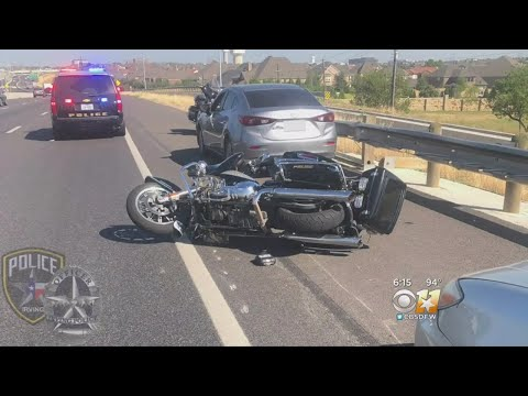 Irving Police Release Dramatic Body Cam Video Of Officer Struck On Motorcycle