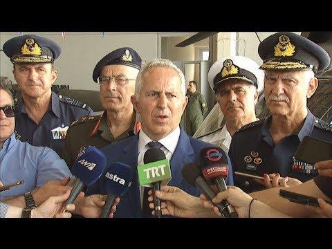 Video - Αποστολάκης: Ο ελληνικός λαός πρέπει να είναι ήρεμος -Εγγυητές της ειρήνης οι Ενοπλες Δυνάμεις
