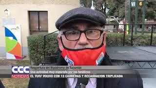 Reapertura del Hipódromo de Tucumán