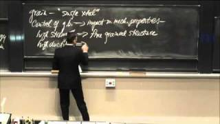 Lec 20 | MIT 3.091SC Introduction To Solid State Chemistry, Fall 2010
