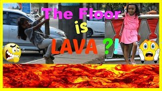 Video THE FLOOR IS LAVA CHALLENGE ♥ FUNNY KIDS CHALLENGE MP3, 3GP, MP4, WEBM, AVI, FLV Agustus 2018