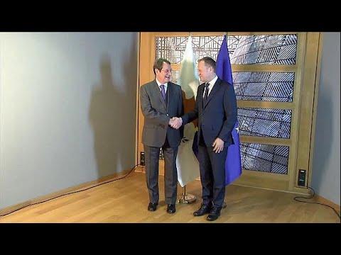 Μαραθώνιος επαφών Αναστασιάδη στις Βρυξέλλες