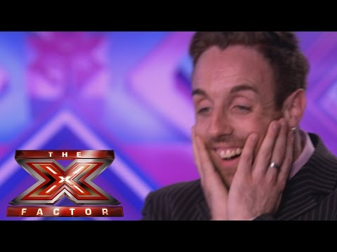 Tonight - Visit the official site: http://itv.com/xfactor Stevie Ritchie is from Essex... Move over Olly Murs there's a new call centre worker in town and he's after your crown. But will Stevie win...