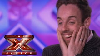 Stevi Ritchie sings Olly Murs' Dance With Me Tonight - Audition Week 1 - The X Factor UK 2014