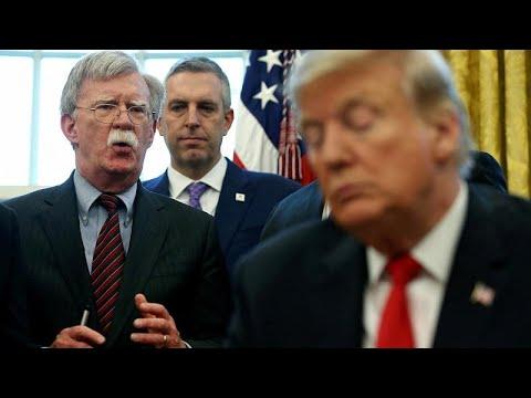 ΗΠΑ: Ο Τραμπ απέλυσε τον σύμβουλο εθνικής ασφαλείας Τζον Μπόλτον…