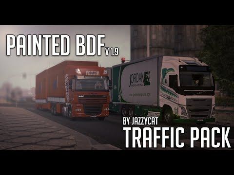 Painted BDF Traffic Pack by Jazzycat v2.2