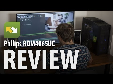 Philips 40-inch UHD monitor (BDM4065UC) : Review