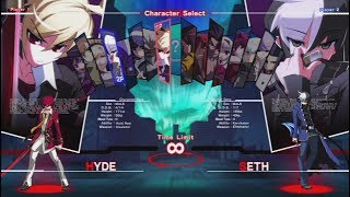 UNDER NIGHT IN-BIRTH Exe:Late release in July 24, 2014アンダーナイトインヴァース エクセレイトDeveloped by: Arc System WorksLivestream: http://www.Twitch.tv/AubueFacebook: https://www.facebook.com/AubueTVTwitter: https://www.twitter.com/AubueTV#UnderNightInBirth #アンダーナイトインヴァース #ps3 #playstation