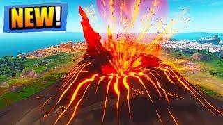 FORTNITE VOLCANO ERUPTION LIVE EVENT!! (Fortnite Battle Royale)